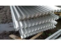 🌸 ROOFING SHEETS CORRUGATED GALVANISED ALUMINUM COATED 8ft 10ft 12ft FREE DELIVERY!