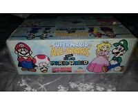 BOXED RARE SUPER NINTENDO SNES MARIO ALL STARS WORLD EDITION COLLECTORS CONDITION