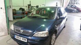 Vauxhall ASTRA long MOT