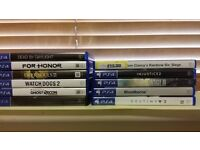 PS4 games Sony Playstation 4