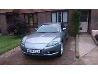 Grey Mazda RX-8 1.3 4dr 2004