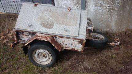 Box trailer with cover,  registered.  Uralla Uralla Area Preview