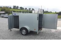New galvanised 7x4 box trailer with brakes side door and extras