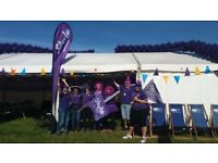 #TeamStroke Event Volunteer at the Great North Run