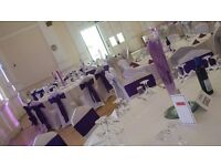 Affordable venue dressing for DIY.... 20% discount for 2017 booking!