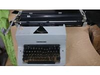 Vintage Imperial 80 Type Writer & Cover