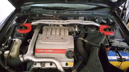 2001 twin turbo legnum/galant VR4 Burdell Townsville Surrounds Preview