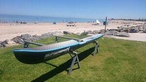 Surf Ski Slipstream Seacliff Holdfast Bay Preview