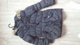 Girls coat 5-6year