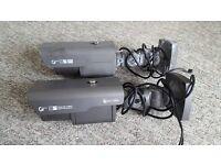 Used Genie CCTV ZD2812IR/ACW True Day/night camera and older model Genie camera