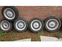 Bmw original alloys good tires