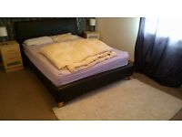 large double room to let in beatiful house in Purbrook, live in landlord, fully furnished,