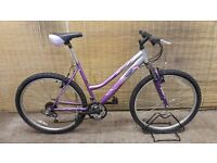 "Ladies mountain bike STEALTH CORAL REEF Frame 19"""