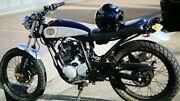 Deus custom bike 250cc Yamaha Scorpio North Narrabeen Pittwater Area Preview
