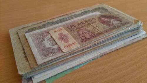 Hungary - Forint Korona Pengo..collection lot of 60 banknote