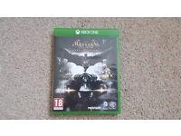 Xbox One Batman Arkham Knight * Mint Condition *
