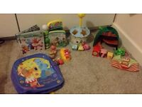 In the night garden bundle of toys. Open to offers.