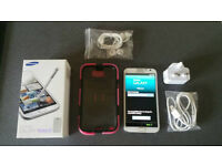 Samsung Galaxy Note 2 II plus accessories