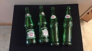Canada Dry and American Dry bottles