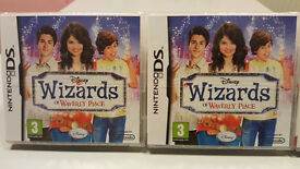 Brand New!! Nintendo DS Disney Wizards Of Waverly Place