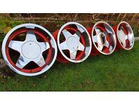 "16's Classic wheels ""KERSCHER CARMONA "" all J9 4x100 ET15"