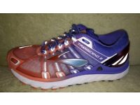 1a4df92724c61 Brooks Transcend 2 Womens Running Shoes in very good condition purple  orange size 5 .