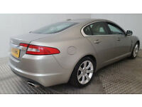 2010 JAGUAR XF LUXURY V6 GOLD 3.0 DIESEL 6 SPEED AUTO SALOON 189k