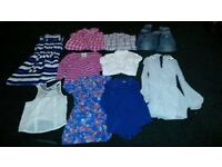 A bundle of ladies clothing size 6-8