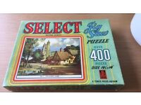 SELECT 400 PIECE JIGSAW NO 1 THE SLEEPY LANE