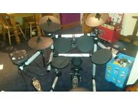 5 piece Axal axk2 electroinic drum set for sale