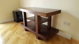 Solid wood TV stand table £60