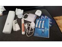 Oral B Genius 9000 Bluetooth Toothbrush & Accessories