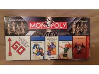 Monopoly X-Men Collectors Edition 2000 by USAopoly Complete w Instructions