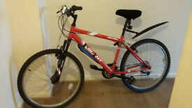 apollo slant mountain bike great condition with guards and gell seat £70 ovno