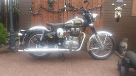ROYAL ENFIELD 500 CHROME CLASSIC ... SAVE £1000