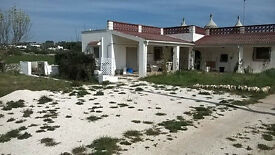A three domed trullo house, with disabled facilities, Martina Franca in the Valle D'Itria, Italy