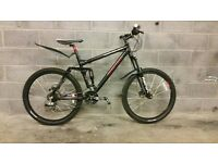 FULLY SERVICED FULL SUSPENSION CARRERA BANSHEE WITH HYDRAULIC BRAKES BICYCLE