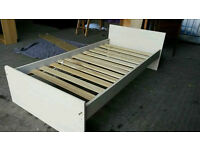 Veneer Single Bed Frame