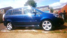 Vauxhall zafira sri 150