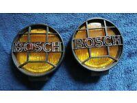 Bosch halogen yellow rally fog lights Off-road 4x4