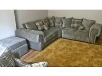 Superior Quality Verona Corner Sofa with luxurious seats available in stock Order Now