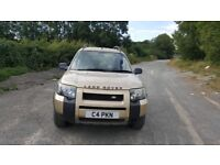 2004 FREELANDER TD4 5DR LONG MOT P/PLATE £995 NO OFFERS