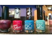 Nail varnish over £200 bundle manicure pedicure