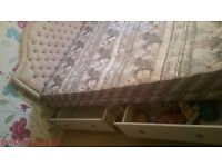 FREE Double Bed Base inc 4 Drawers