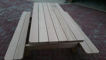2100 long, 100% Aussie hardwood picnic table / bench Berwick Casey Area Preview