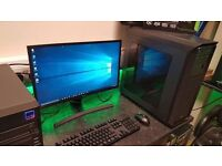 Stunning Core i7 Quad Core Windows 10 Gaming PC Package With 6 Months Warranty £795