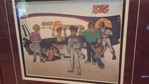 23x21 Speed Racer picture no paperwork