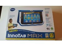 2 x Innotab Max childrens tablet bundle with games and cases