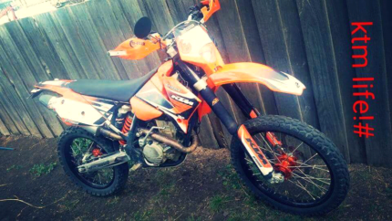 Wanted: 07 ktm 250 exc road trail