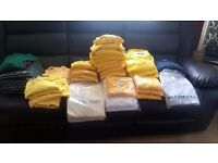 BRAND NEW , polo T shirts and jumpers some in wrappers some not